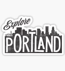 Explore Portland Sticker