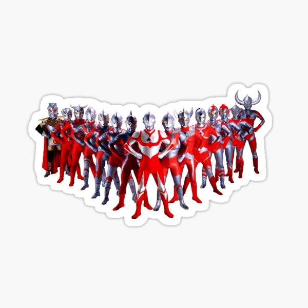 The Ultramen! Sticker