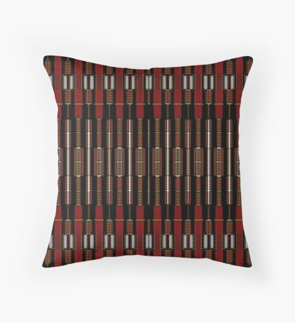 PISTON-NUTS & BOLTS Throw Pillow