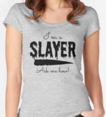 I'm a Slayer Women's Fitted Scoop T-Shirt
