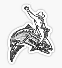 Trout Rodeo Sticker