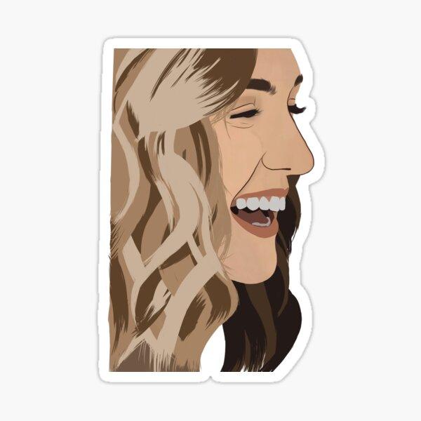 Kat Barrell (Nicole Haught) Sticker