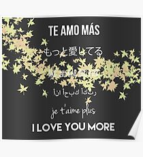 I Love You More Poster