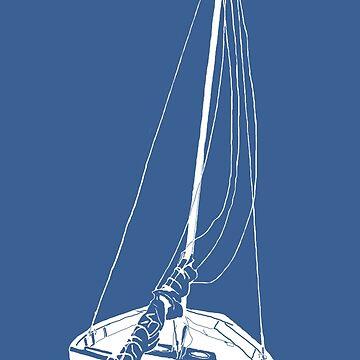 Sailboat (White) by pwherrett