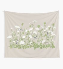Queen Anne Lace Wall Tapestry