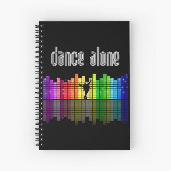 Eurovision 2021- Eurovision song contest -  ESC fans - Dance Alone - Discoteque Spiral Notebook