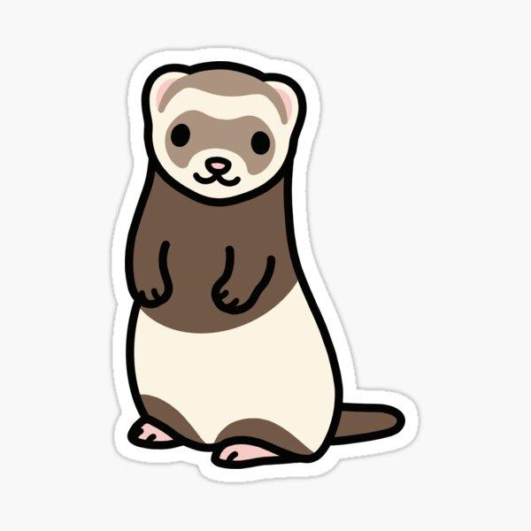 Ferret Sticker