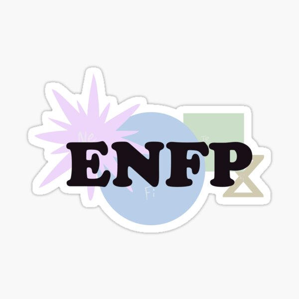 MBTI Type: ENFP Sticker