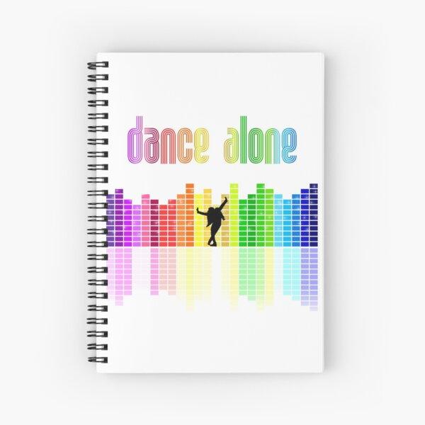 Eurovision 2021- Eurovision song contest -  ESC fans - Dance Alone - Discoteque - pride colors Spiral Notebook
