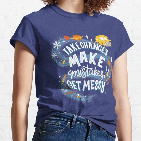 Magic Schoolbus Frizzle Quote Classic T-Shirt