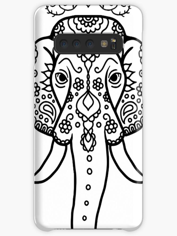 coque galaxy s7 edge mandala elephant
