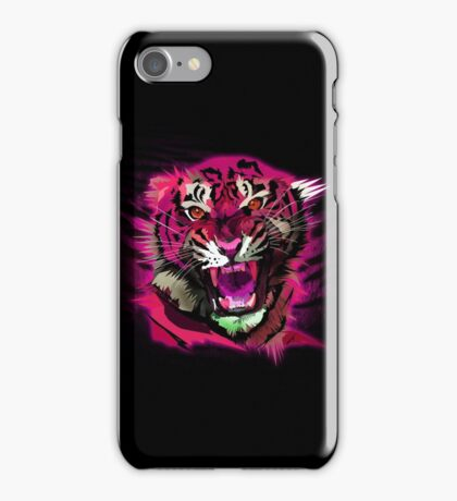 Tiger Roar (Pink) iPhone Case/Skin