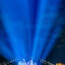 Lighting the Sails - Sydney Opera House by Erik Schlogl