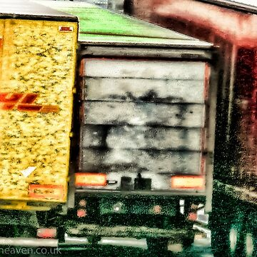 Arty trucks on the docks  by bywhacky