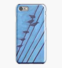 Birds, Wires 1 iPhone Case/Skin