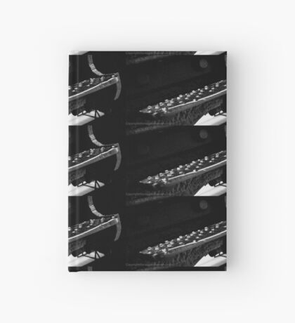 Stepping up Hardcover Journal