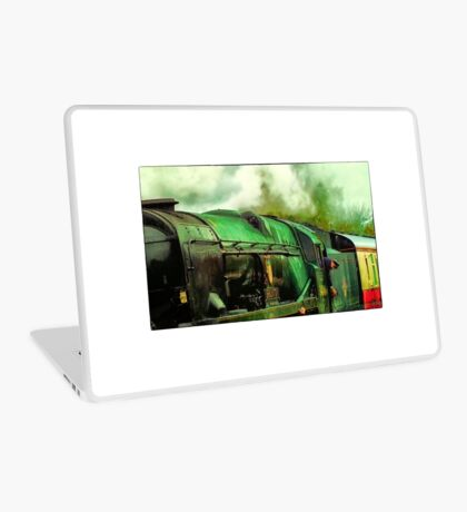 Green Steam again Laptop Skin