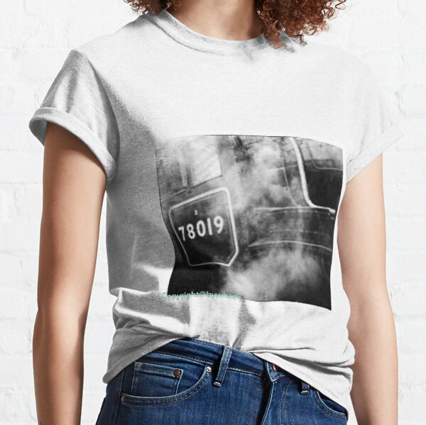 78019 gets steamed up Classic T-Shirt