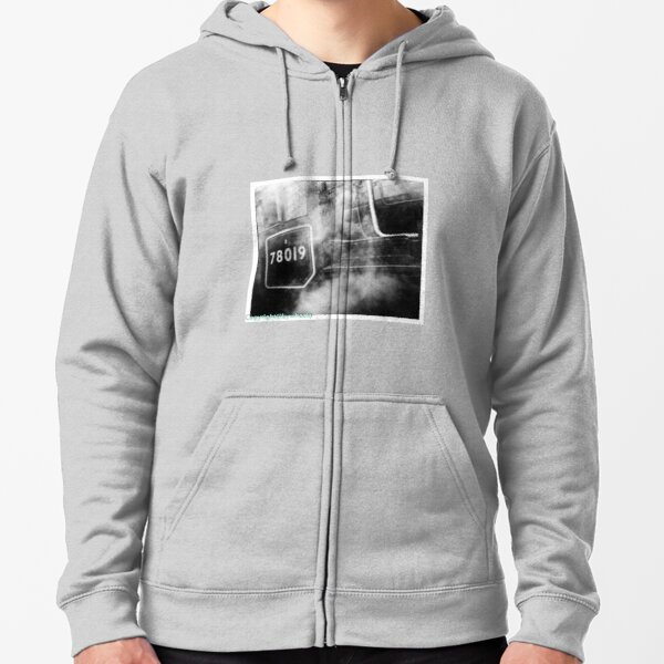 78019 gets steamed up Zipped Hoodie