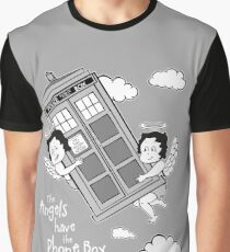 The Angels have the Phone Box - Version 3 BW (for dark tees) Graphic T-Shirt