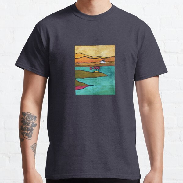 House, Trees - Conamara, Ireland Classic T-Shirt