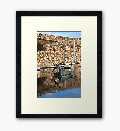 Fun in the Water Framed Print