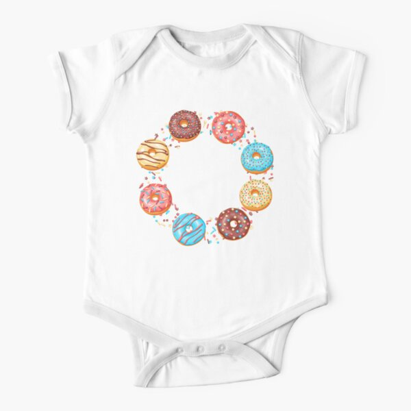 You Are The Sprinkles To My Donut Short Sleeve Baby One-Piece