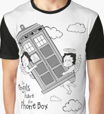 The Angels have the Phone Box - Version 3 BW (for light tees) Graphic T-Shirt