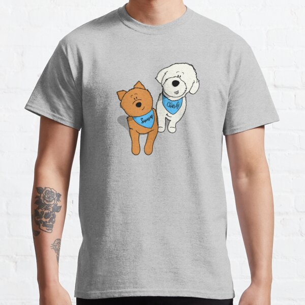 Hunde Duo Classic T-Shirt
