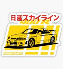 Nissan Skyline R33 400R Nismo Sticker