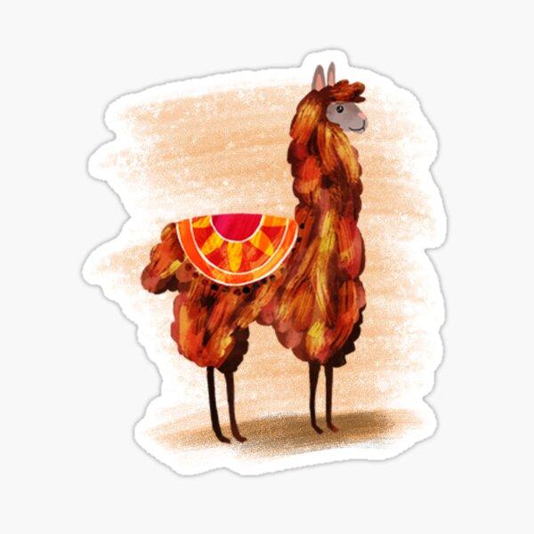 Lamas Sticker