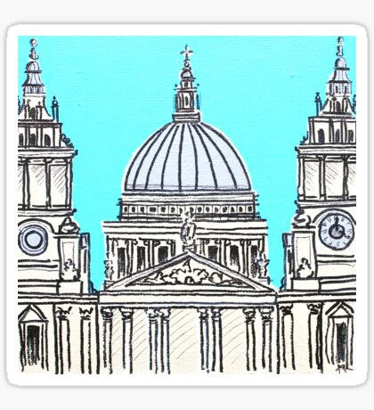 St Pauls Cathedral Sticker
