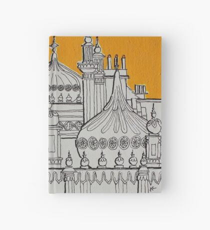 Yellow Dome Hardcover Journal