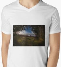 Rannock Moor and Loch Ba Men's V-Neck T-Shirt