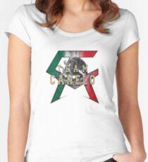 Canelo Saul Alvarez boxer Logo (T-shirt, Phone Case & more) Women's Fitted Scoop T-Shirt
