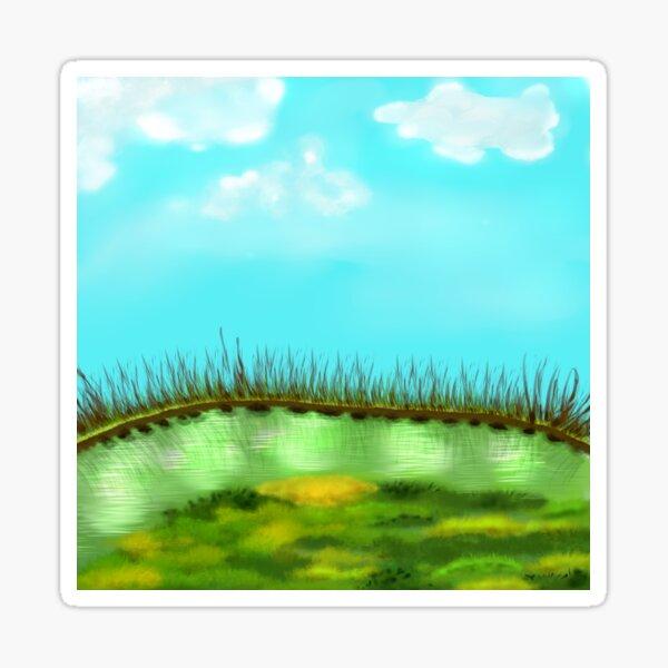 Beauty Calm Nature Landscape Sticker