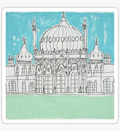 Brighton Pavillion Sticker