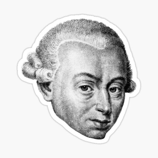 Immanuel Kant Sticker