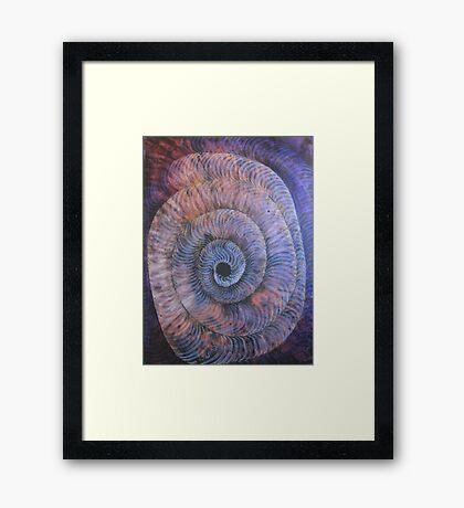 Intimacy = INTO MY SEA Framed Print