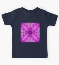 Pink Abstract Kids Tee