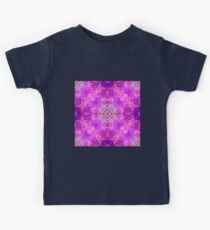 Pink Abstract 2 Kids Tee