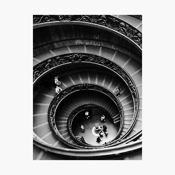 Musei Vaticani: Descent Photographic Print