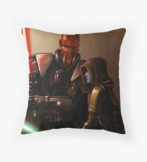 Lord Scourge Throw Pillow