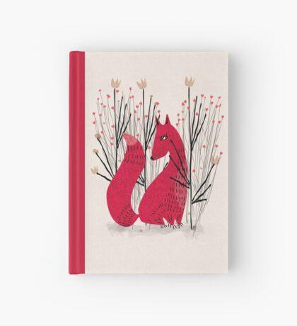 Fox in Shrub Hardcover Journal