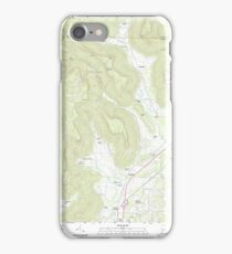 USGS TOPO Map Alabama AL Doran Cove 20111013 TM iPhone Case/Skin