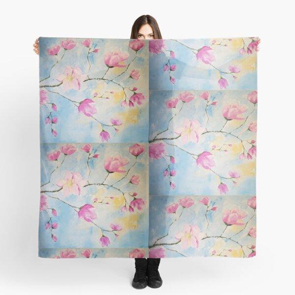 Magnolias - Flowers Scarf