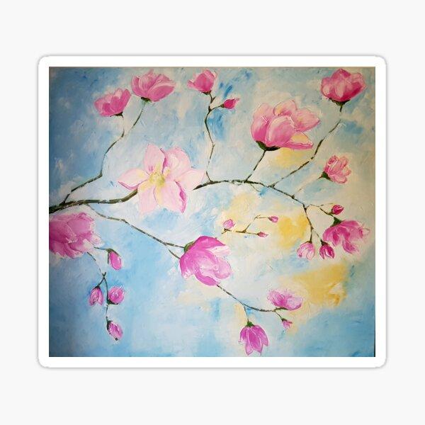Magnolias - Flowers Sticker