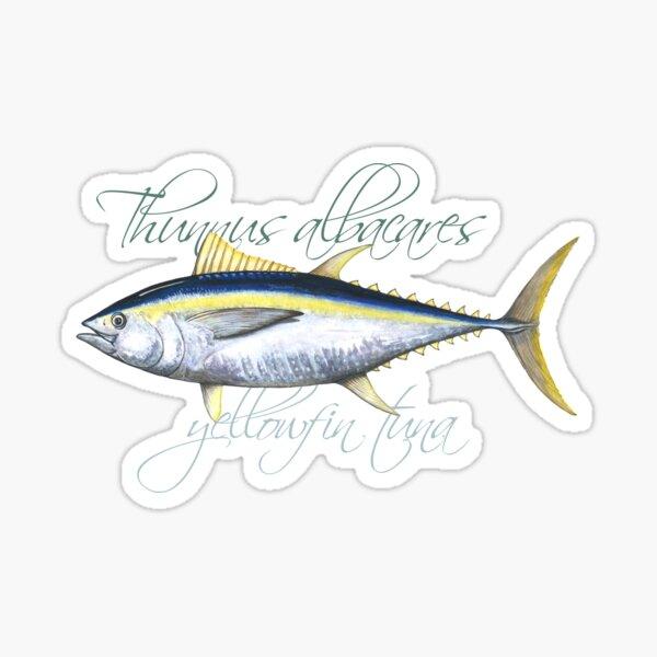 Yellowfin Tuna · Thunnus albacares Sticker