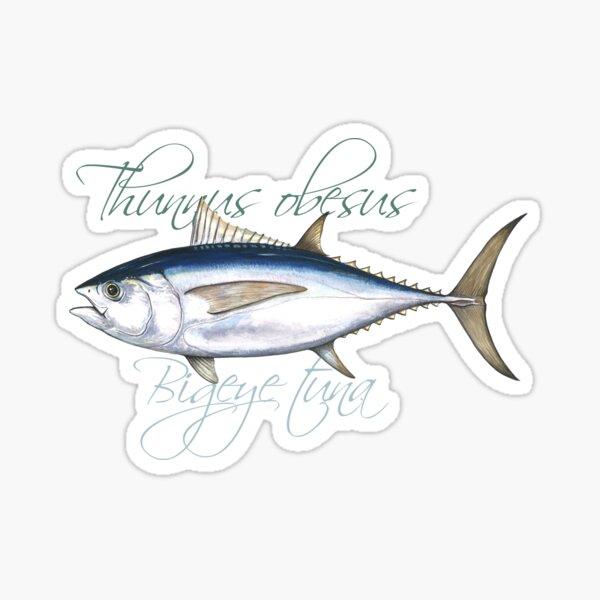 Bigeye Tuna · Thunnus obesus Sticker