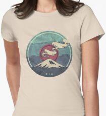 Fuji Tailliertes T-Shirt